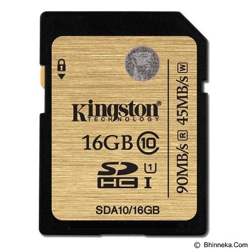 KINGSTON SDHC 16GB Class 10 [SDA10/16GB] - Secure Digital / SD Card