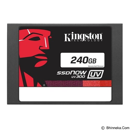 KINGSTON SSDNow UV300 Series 240GB [SUV300S37A/240G] (Merchant) - Ssd Sata 2.5 Inch