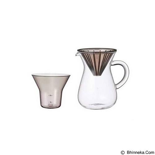 KINTO Carafe Plastic 300ml [27643] (Merchant) - Mesin Kopi Manual