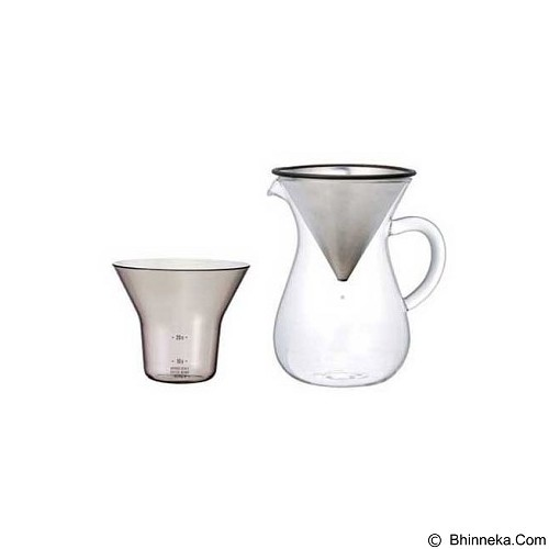 KINTO Carafe Stainless Steel 300ml [27620] (Merchant) - Mesin Kopi Manual