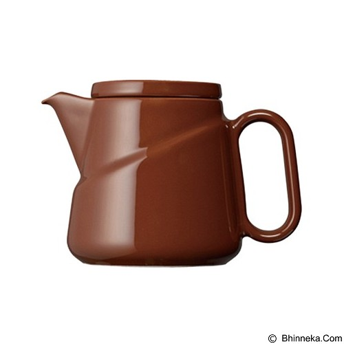 KINTO Ridge Teabag Teapot [23577] - Brown (Merchant) - Kendi / Pitcher / Jug