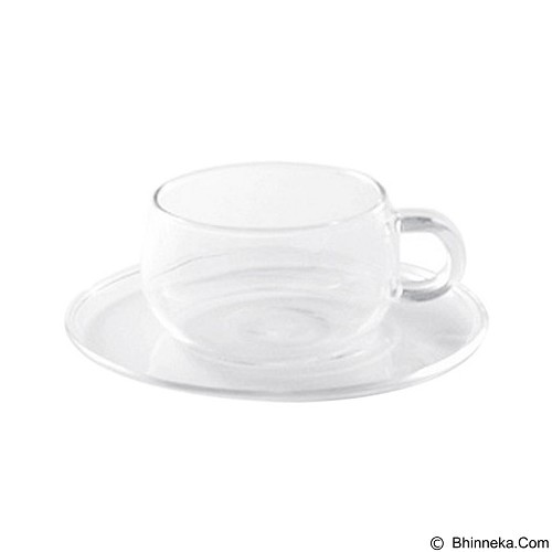 KINTO Unitea Cup & Saucer [8330] - (Merchant) - Gelas