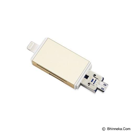 KISMO OTG Memory Card Reader iPhone 3in1 (Merchant) - Memory Card Reader External