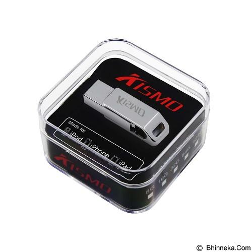 KISMO OTG iPhone Computer 2in1 Flashdisk Steel Body 32GB (Merchant) - Usb Flash Disk Dual Drive / Otg