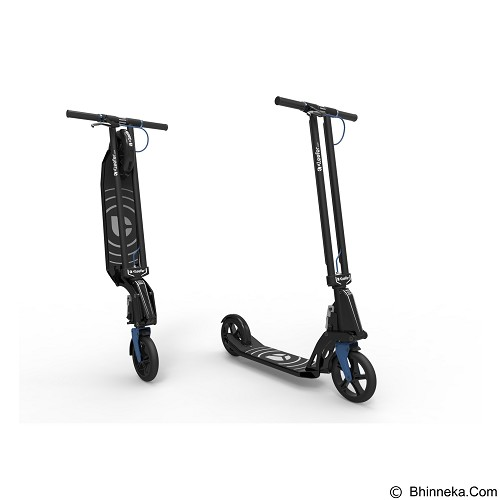 KLEEFER Scooter - Black/Blue (Merchant) - Skuter Pedal