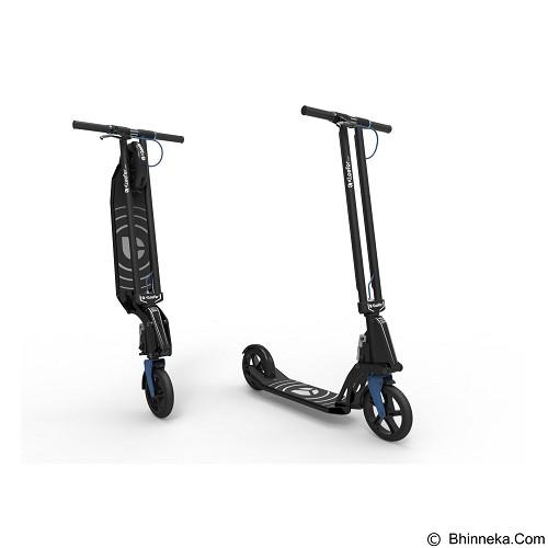 KLEEFER Scooter - Black/Blue (Merchant) - Skuter Pedal