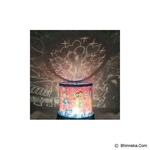 KOBUCCA SHOP Proyektor Couple Romance for Valentine - Lampu Meja