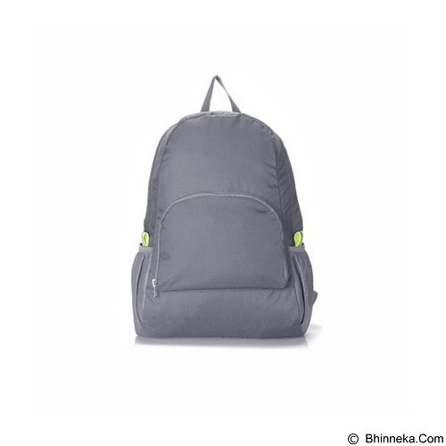 KOBUCCA SHOP Tas Ransel Lipat - Grey (Merchant) - Travel Bag