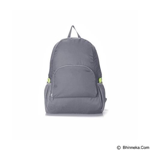 KOBUCCA SHOP Tas Ransel Lipat - Grey (Merchant) - Travel Bag