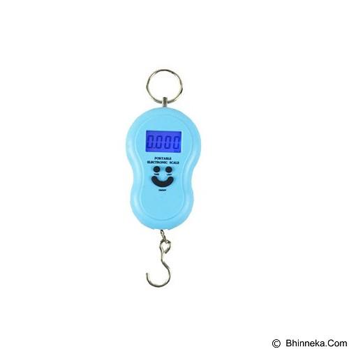 KOBUCCA SHOP Timbangan Gantung Digital - Blue (Merchant) - Timbangan Digital