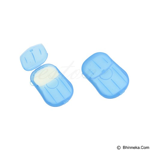 KOBUCCA SHOP Travelling Paper Soap [480] (Merchant) - Sabun Mandi