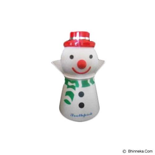 KOBUCCA SHOP Tusuk Gigi Santa Claus - Tempat Tusuk Gigi