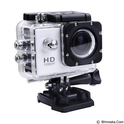 KOGAN Action Camera 1080p - White (Merchant) - Camcorder / Handycam Flash Memory