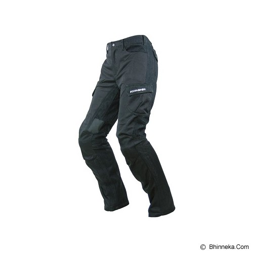 KOMINE PANTS PK720 DENIM BLACK - Jaket Motor