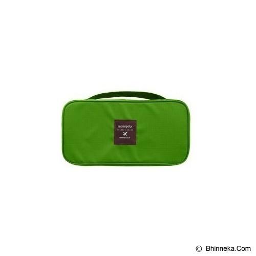 KOREAN BAG-TOKO BAGUS INDO Korean Foldable Multifunction Pouch Organizer - Green - Travel Bag