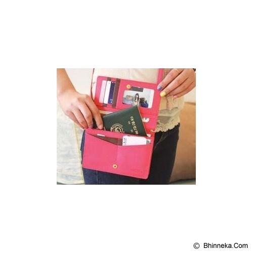 KOREAN BAG-TOKO BAGUS INDO Korean Smart Fancy Bag - Hot Pink - Dompet Wanita