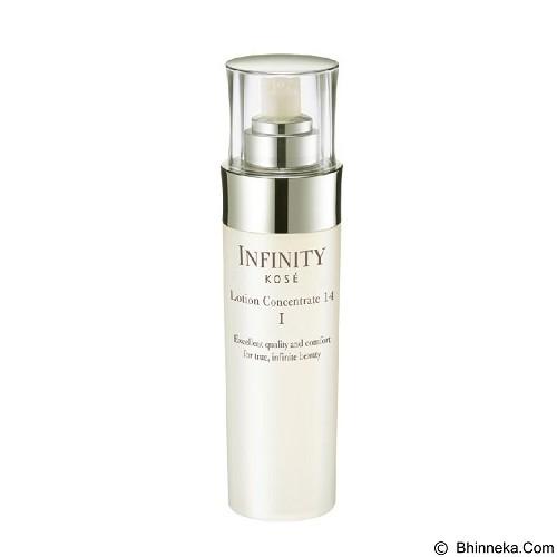 KOSE Infinity Lotion Concetrate 14 I Fresh & Mellow 160ml - Krim / Pelembab Wajah