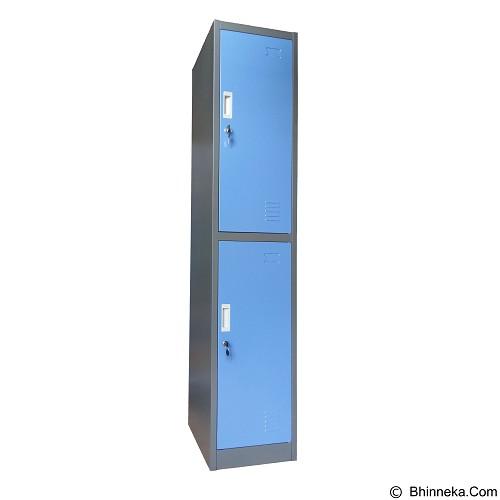 KOZURE Locker [KL-2] - Blue - Filing Cabinet / Lemari Arsip