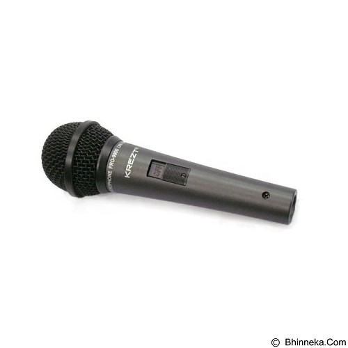 KREZT Microphone Dynamic [Pro 9900BK] - Black - Microphone Live Vocal