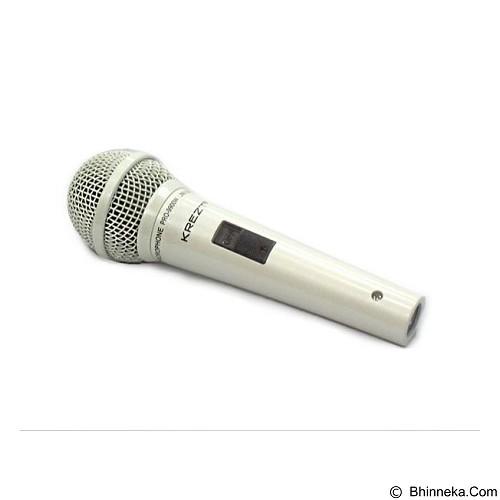 KREZT Microphone Dynamic [Pro 9900W] - White - Microphone Live Vocal