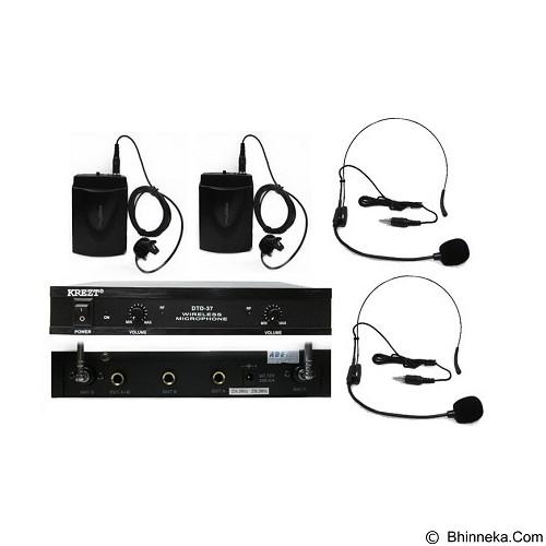 KREZT Microphone Headset DTD 37 LL + HT011 DL - Microphone System