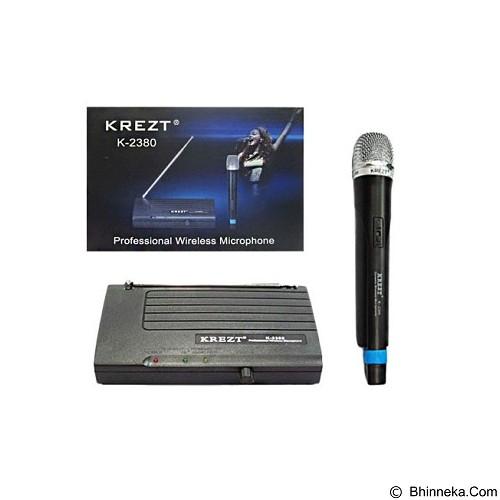 KREZT Single Wireless Microphone Handheld [2380 H] - Microphone System