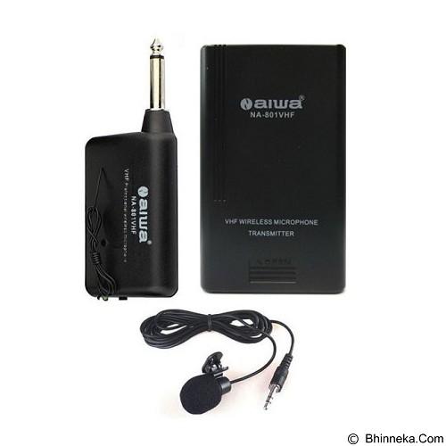 N-AIWA VHF Clip on [NA 801] - Microphone System