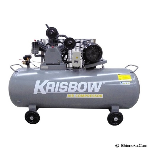 KRISBOW Air Compressor 10HP 520L 12BAR 380V 3PH [10029566] - Kompresor Angin
