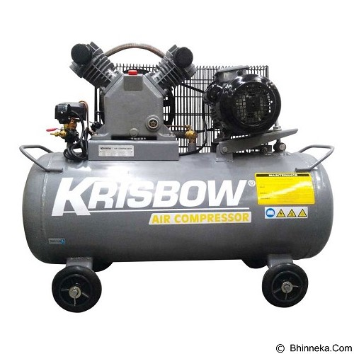 KRISBOW Air Compressor 3HP 120L 10BAR 220V 1PH [10029559] - Kompresor Angin