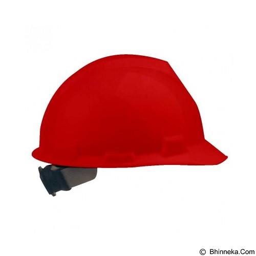 KRISBOW Safety Helmet KW10-321 [KW1000321] - Red - Helm Proyek / Safety Helmet