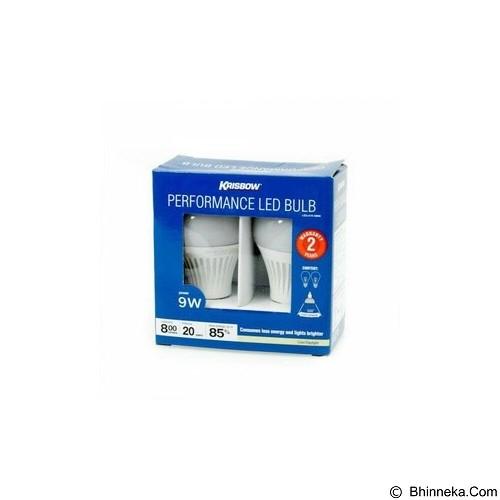 KRISBOW Set Bohlam Lampu LED 9 Watt (Merchant) - Lampu Bohlam / Bulb