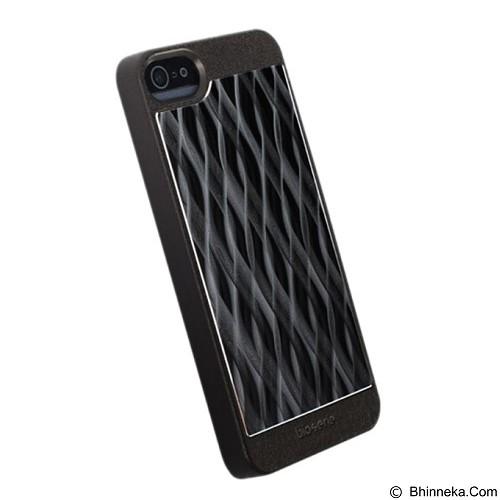 KRUSELL Alu Cover for iPhone 5 - Black Wave (Merchant) - Casing Handphone / Case