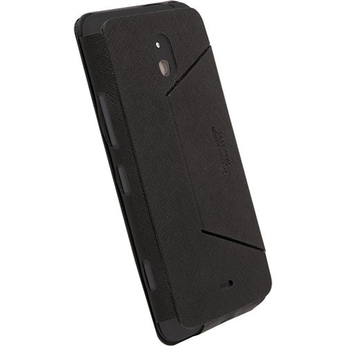 KRUSELL Malmo FlipCover for Nokia Lumia 1320 - Black - Casing Handphone / Case