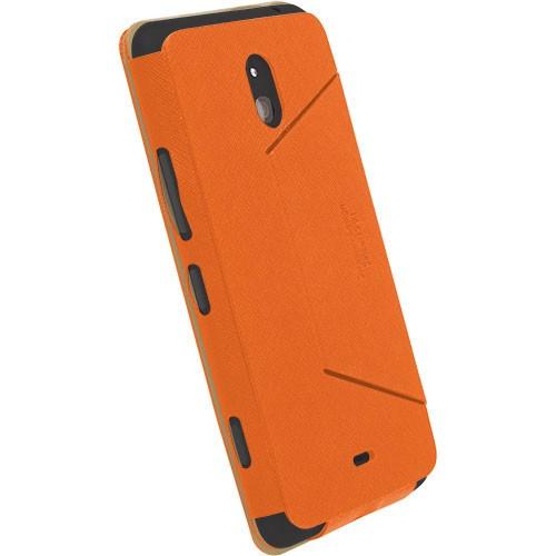 KRUSELL Malmo FlipCover for Nokia Lumia 1320 - Orange - Casing Handphone / Case