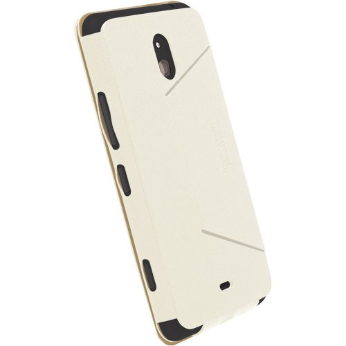 KRUSELL Malmo FlipCover for Nokia Lumia 1320 - White - Casing Handphone / Case