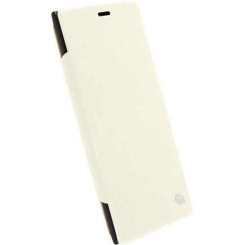 KRUSELL Malmo Flipcase for Nokia Lumia 1520 - White - Casing Handphone / Case