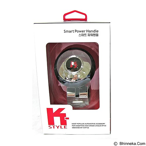 K-STYLE Smart Power Handle - Chrome (Merchant) - Organizer Mobil