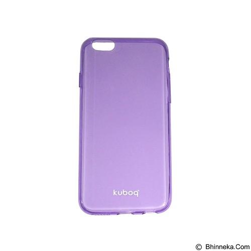 KUBOQ Clear Shadow Apple iPhone 6/6s - Purple Transparant (Merchant) - Casing Handphone / Case