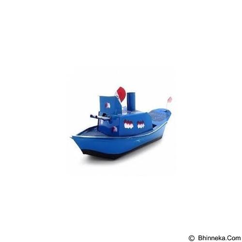 KUNOJADOEL Mainan Kapal Othok Othok - Blue (Merchant) - Sand and Water Toys