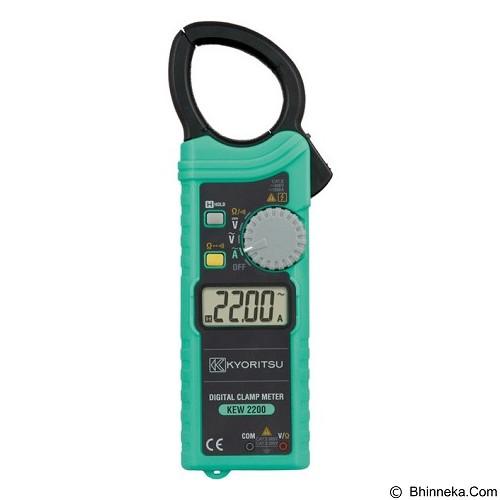 KYORITSU AC Digital Clamp Meters [2200] (Merchant) - Tester Listrik
