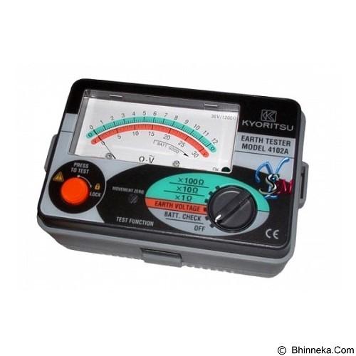 KYORITSU Analog Earth Tester [4102A] (Merchant) - Alat Ukur Kadar Listrik