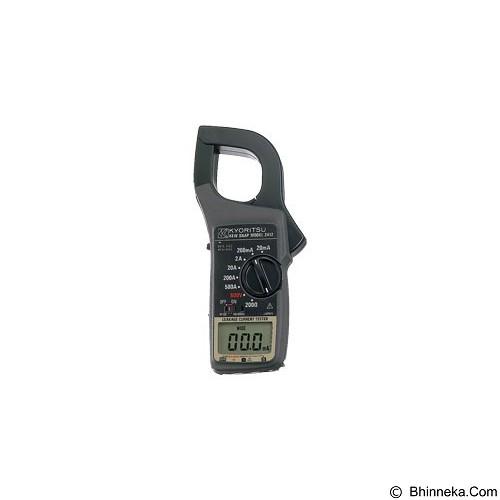 KYORITSU Leakage Clamp Meters [2412] (Merchant) - Alat Ukur Kadar Listrik