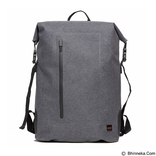 Knomo Cronwell Top Zip Backpack 15 Inch - Grey (Merchant) - Notebook Backpack