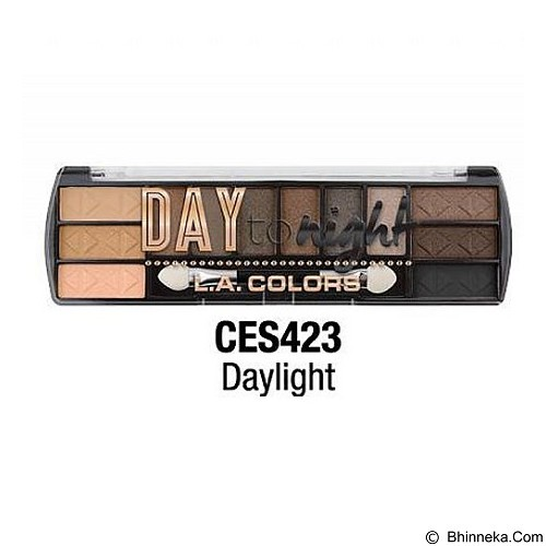 L.A. COLORS Day To Night Eyeshadow Daylight (Merchant) - Lipstick