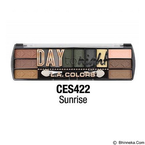 L.A. COLORS Day To Night Eyeshadow Sunrise (Merchant) - Lipstick