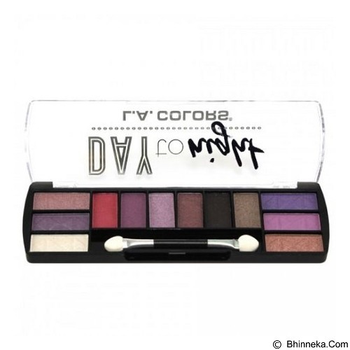 L.A. COLORS Day To Night Eyeshadow Twilight (Merchant) - Lipstick