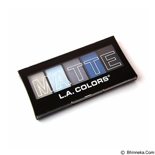 L.A. COLORS Matte Eyeshadow Blue Denim (Merchant) - Lipstick
