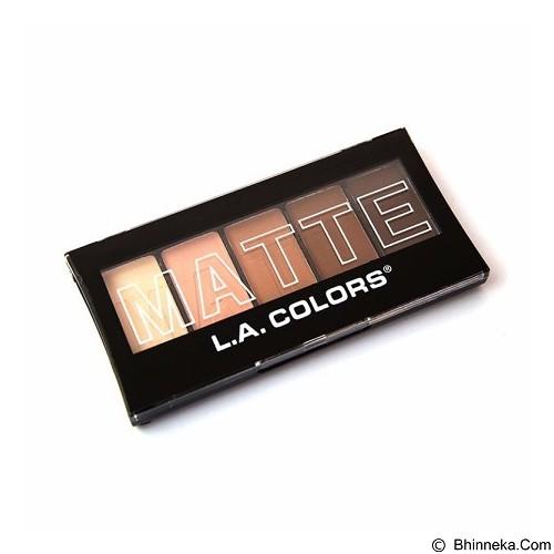 L.A. COLORS Matte Eyeshadow Tan Khaki (Merchant) - Lipstick