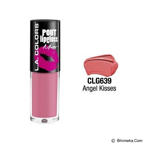 L.A. COLORS Pout Matte Lipgloss Angel Kisses (Merchant) - Lip Gloss & Tints