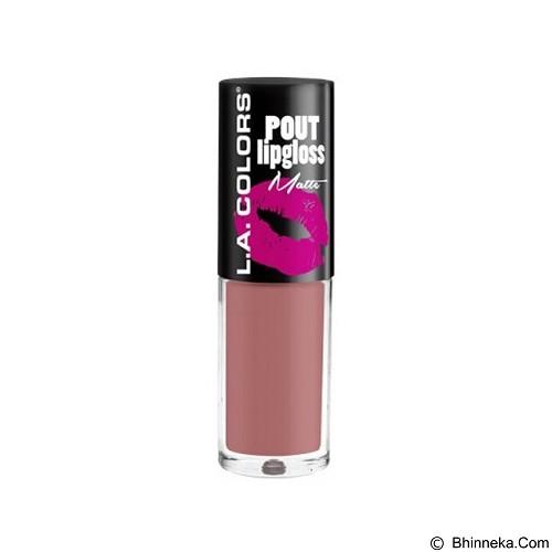 L.A. COLORS Pout Matte Lipgloss (Merchant) - Lip Gloss & Tints